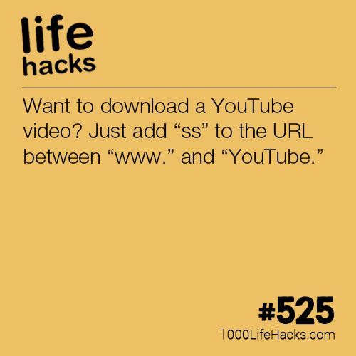 Instantly Download Any Youtube Video | tech | Life hacks