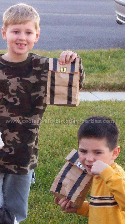 Pirate Treasure Chest Loot Bags