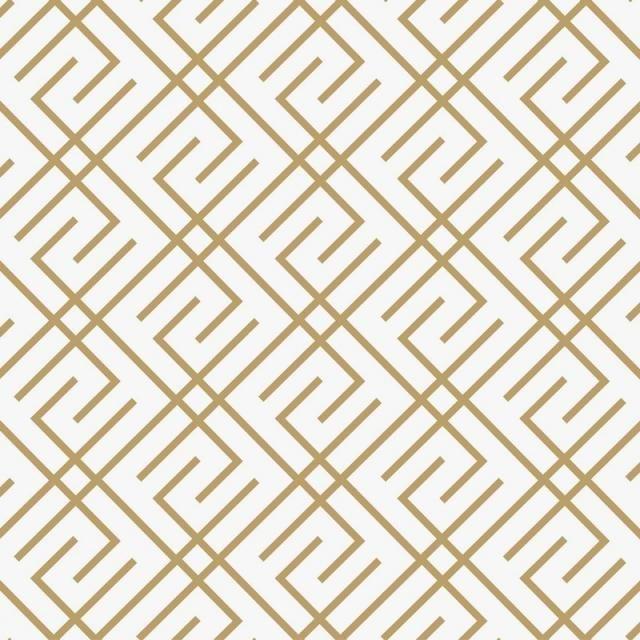 Geometric Seamless Pattern With Line Modern Minimalist