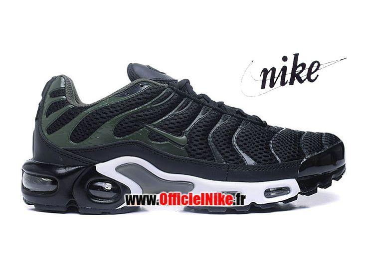Homme Chaussures Nike Air Max Plus Tn/Tuned Breathe (BR) Noir/Kaki cargo/Anthracite/Blanc 898014-002