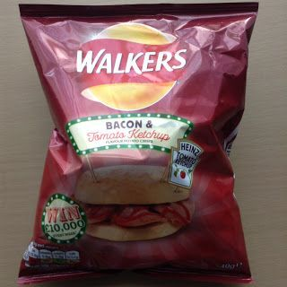 Walkers Bacon and Heinz Tomato Ketchup Crisps Review | Kev's Snack Reviews…