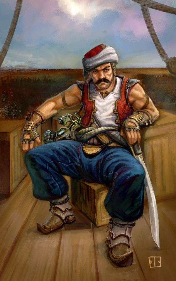 what Turk, the Pirate, really looks like!?!                                                                                                                                                                                 More