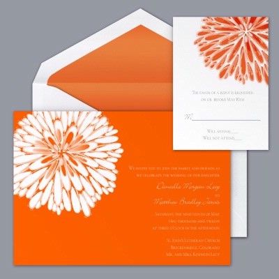 summer themed wedding invitations | orange wedding invitations source photos weddingbycolor nocookie com