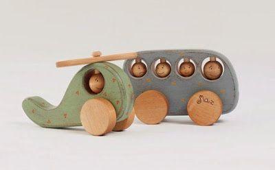 model mainan anak dan balita dari kayu