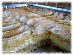 Omenapiirakka vanilja-mascarponetäytteellä | Reseptit | Kinuskikissa
