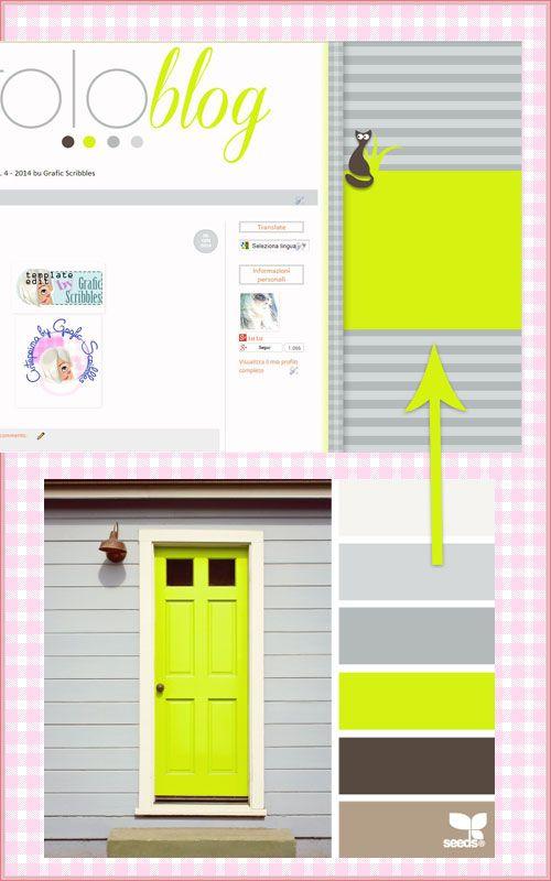 Usiamo Design-Seed per cercare le nostre palette colori http://graficscribbles.blogspot.it/2014/01/palette-colori-richieste-grafica-personalizzata-tami-background-sfondi-template-blog-Design-Seed.html