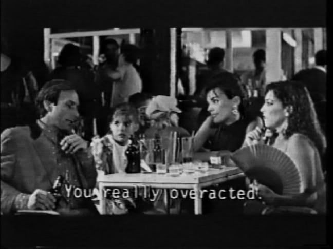 THE LAW OF DESIRE a film BY  PEDRO ALMODOVAR ( Eusebio Poncela  with Angie Gray)