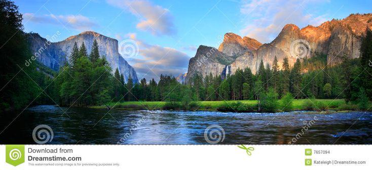 Coucher Du Soleil Yosemite De Panorama - Télécharger parmi plus de 49 Millions des photos, d'images, des vecteurs et . Inscrivez-vous GRATUITEMENT aujourd'hui. Image: 7657094