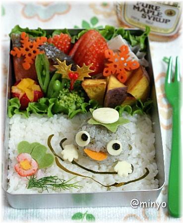 Kappa(Japanese legendary creature living in the river) Kyaraben Bento Lunch