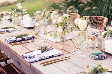 Fairytale summer garden party.