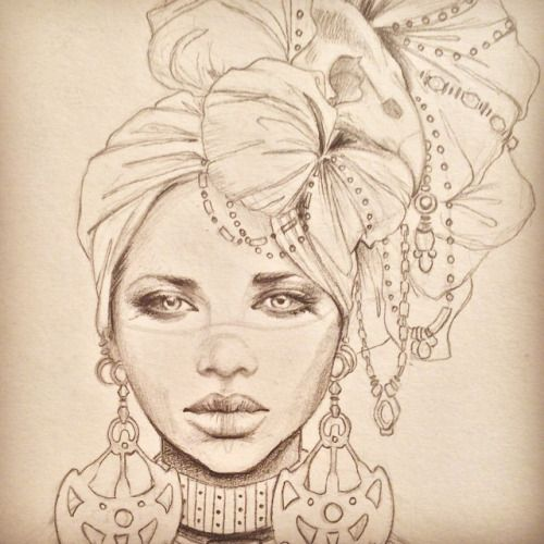http://marisajimenezartist.tumblr.com/post/117364693964/art-illustration-drawing-draw-african-style
