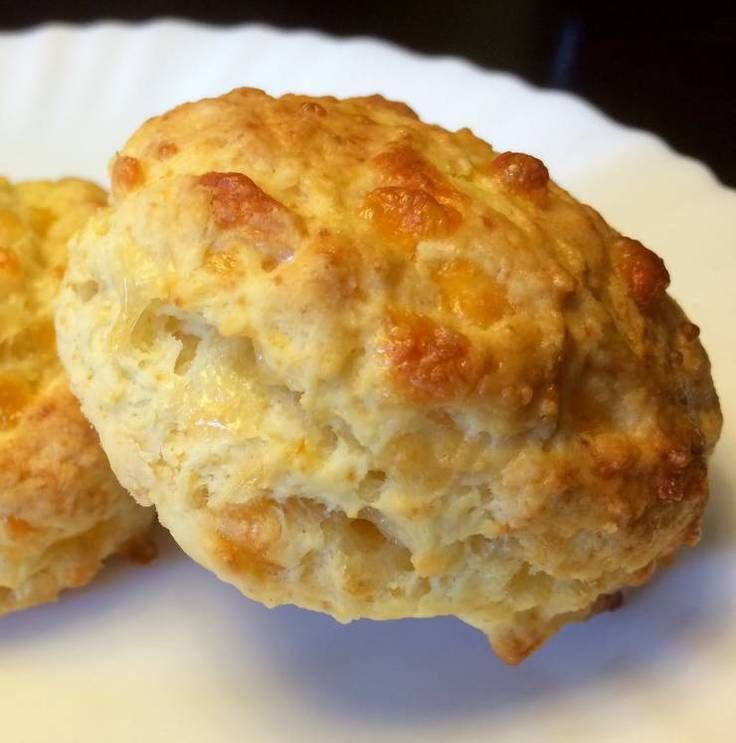 "Chezzy Biscuits! ""This is a no sweat recipe! Great with gravy!""  @allthecooks #recipe"