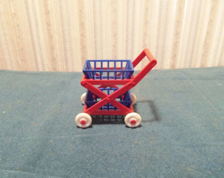 Ideal Shopping Cart Dollhouse Miniature | eBay