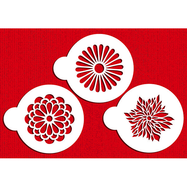 image of flowered stencils - Google Search