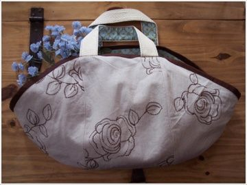 Lucille picnic bag - a mini tutorial ~ from sewtakeeatlike