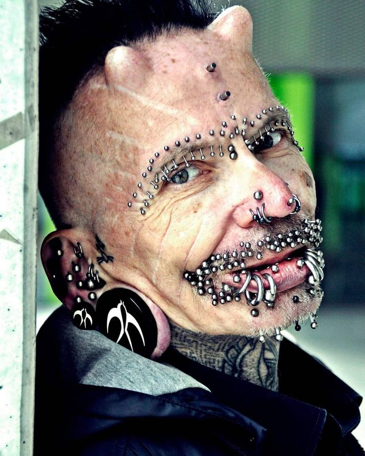 "86 Me gusta, 4 comentarios - Cyprus TattooExpo (@cyprustattooexpo) en Instagram: ""Also welcome @robuchholz , The Most Pierced Man in the World!!! Rolf Buchholz, from Dortmund,…"""