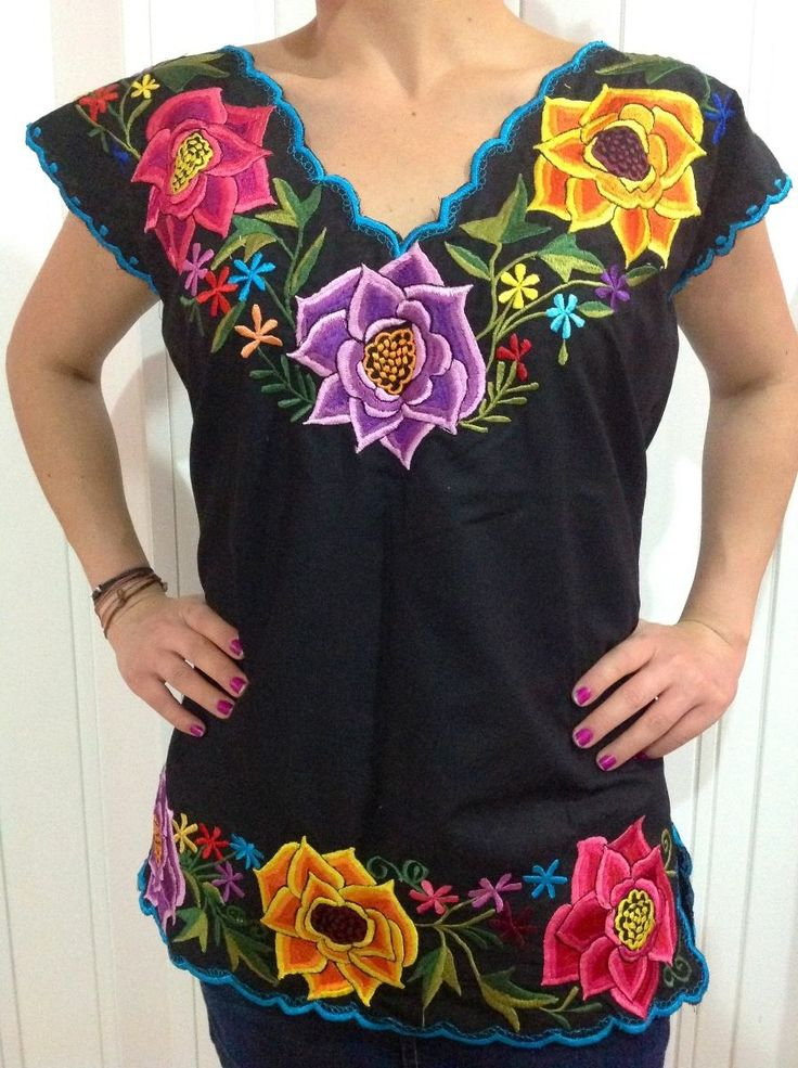 78 ideas sobre blusa mexicana en pinterest vestidos