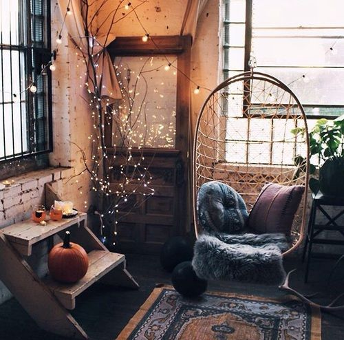 Image de home, autumn, and room