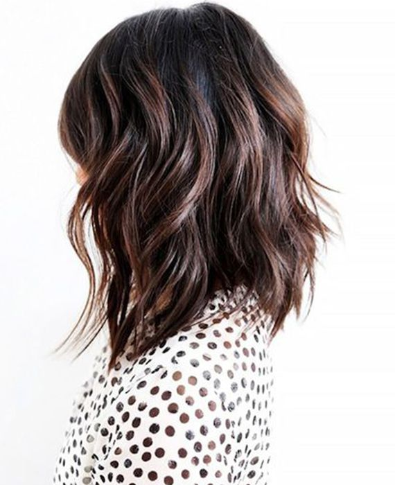 Shoulder Length Hairstyles For Dark Brown Hair : 385 best shoulder length hair images on pinterest