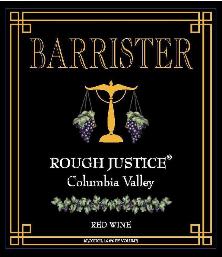 Rough Justice - Barrister Winery
