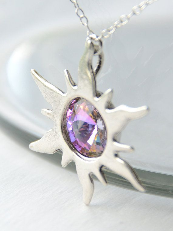 tangled sunburst necklace. totally want this.