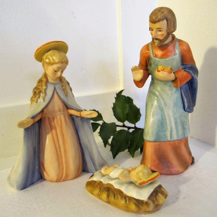 Holy Family Admires Jesus Nativity Religious Christmas: 36 Best Images About Catholic Figurines, Art, Icons