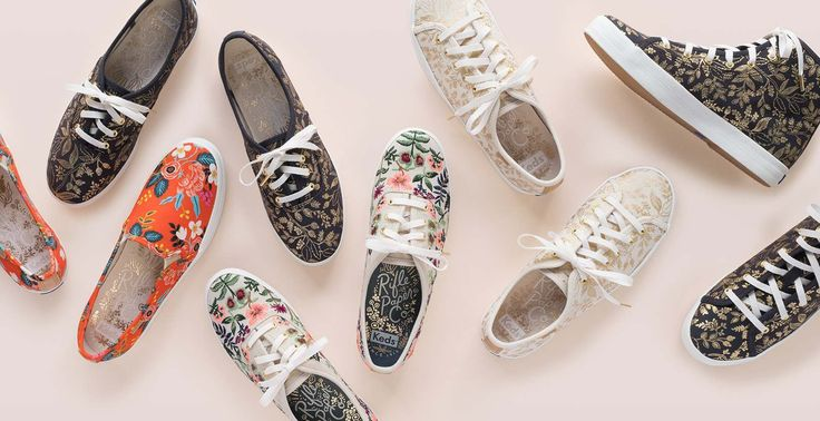 Keds collection (and the Rifle Paper Company)