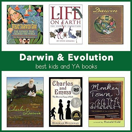 Charles Darwin / Evolution for Kids -- Best Children's Books for K-Gr. 8