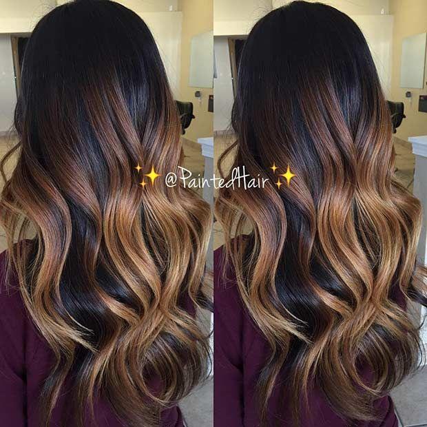 Braun Balayage Hair In 2019 Pinterest