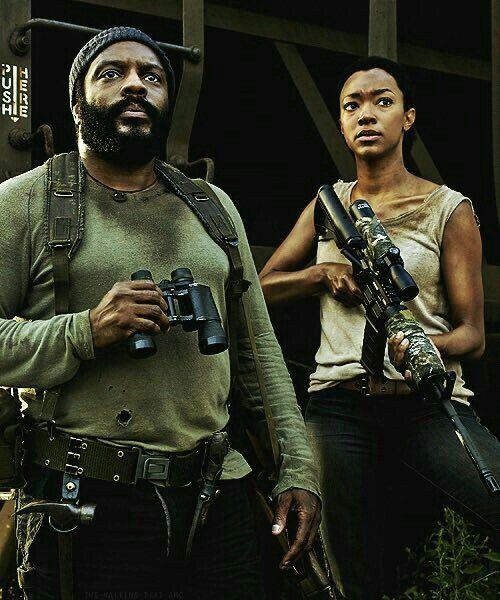 The Walking Dead: Tyresse & Sasha Williams