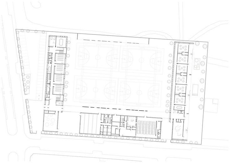 School in Ejea de Los Caballeros,Ground Floor Plan