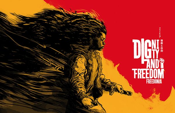 Freedonia - Dignity and Freedom album cover art on Behance