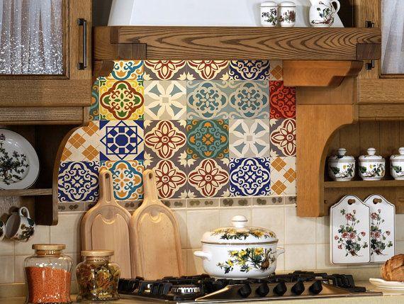 Best Wall Stickers For Kitchen Ideas On Pinterest Tile - Custom vinyl wall decals for kitchen backsplash