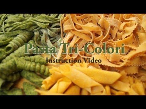 Pasta tri colori