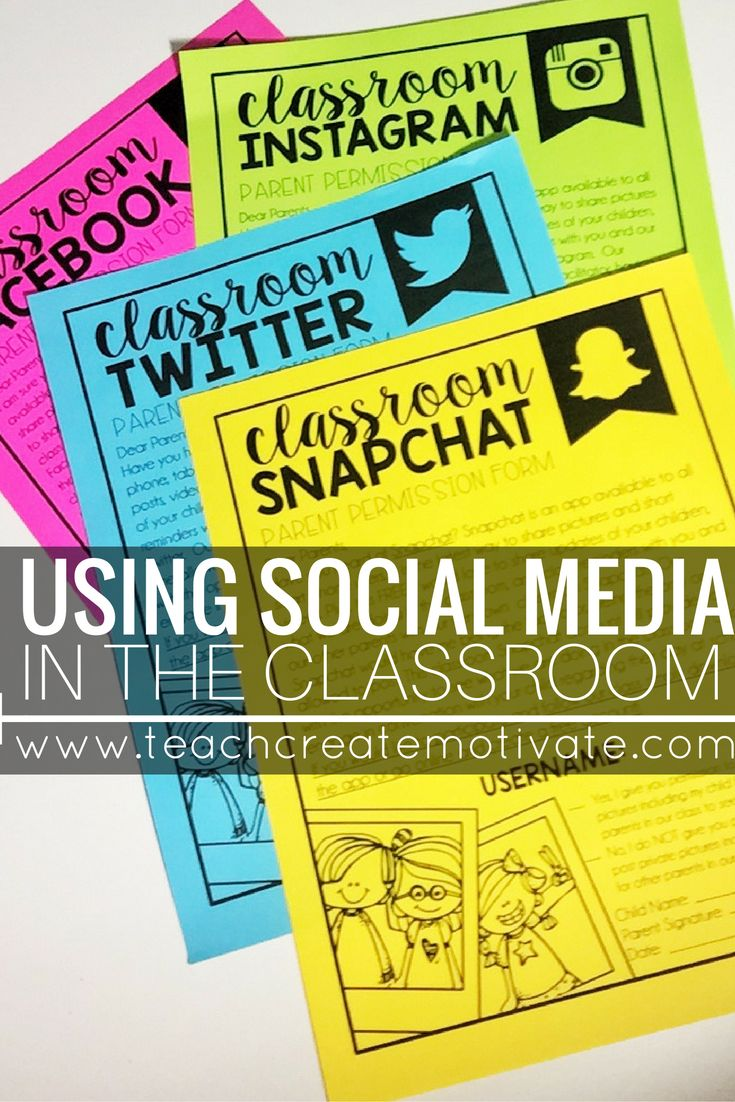 Social Media is such a powerful tool for teachers to connect with students and f…