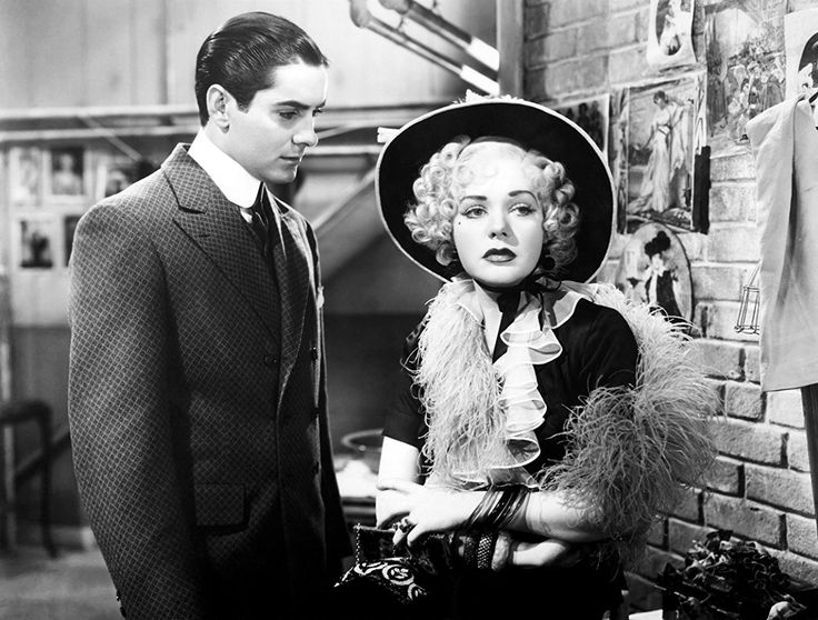 Tyrone Power and Alice Faye in Alexander's Ragtime Band (1938)