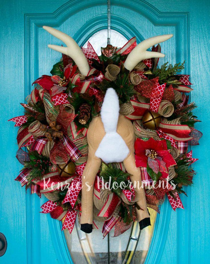 The Grinch Wreath Deco Mesh Christmas Wreath Deco Mesh