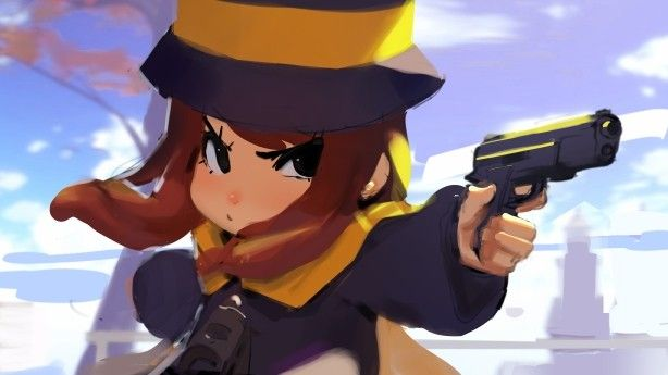 If Hat Kid Has A Hin A Hat In Time Fanart A Hat In Time Hat In Time Art