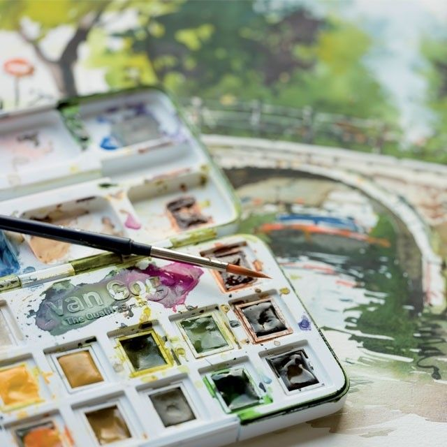 Van Gogh Watercolor Pocket Box Sets Are Designed To Take Your