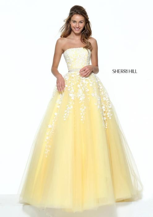 24 best sherri hill dresses images on Pinterest | Prom dresses ...