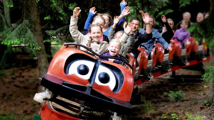 Marienkäferbahn (Ladybug) Themepark FORT FUN Abenteuerland, Bestwig, Sauerland
