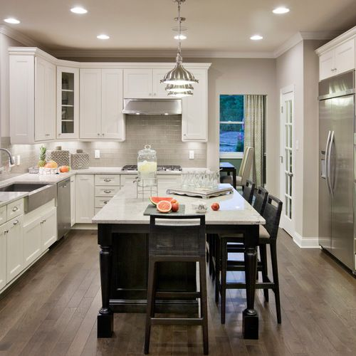 Houzz | Sherwin Williams Amazing Gray Home Design Design Ideas & Remodel Pictures