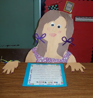 Adorable for Open House!  I LOVE THE HANDS ON THE DESK!!!