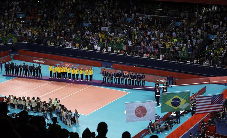 London Olympics: USA gets silver medal against Brazil in women's volleyball (photo essay)   OregonLive.com