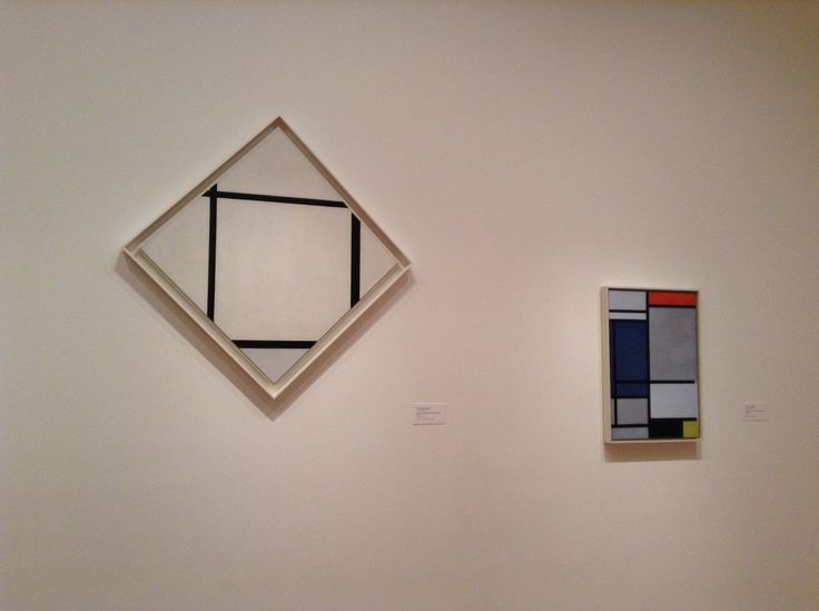 My Path at MoMA - Mondrian