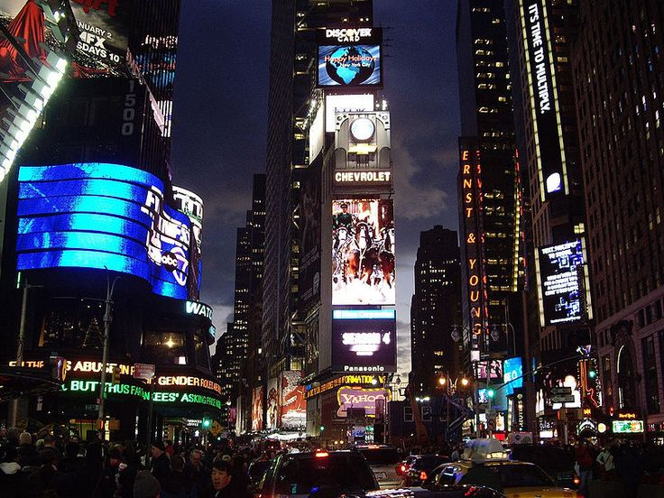 Times Square, NY Cyberpunk Pinterest Nyc, New Year's