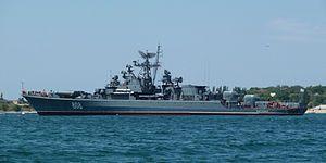 El Proyecto 1135 Burevestnik ( Storm Petrel ) clase eran una serie de fragatas construidas para la Armada Soviética . Estos buques son comúnmente conocidos por su nombre de clase de Krivak de la OTAN y se dividen en clases Krivak I , Krivak II (ambas navales) y Krivak III (guardacostas).    Estos buques fueron diseñados como un sucesor de la clase de Riga . El diseño comenzó en la década de 1950 y maduró como un barco anti-submarino en la década de 1960