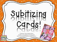 FREE!  Dot cards to help build the all important subitizing skills!