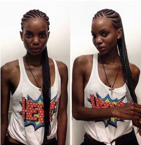 Nag Linda / Afro Braids | Box braids | Pinterest | Afro ...