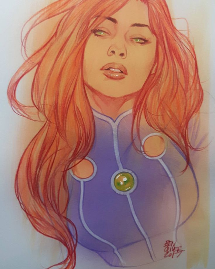 """9,044 Likes, 50 Comments - Ben Oliver (@benoliverart) on Instagram: """"SOLD, thanks very much everyone! Starfire commission - although it turns out I was actually…"""""""
